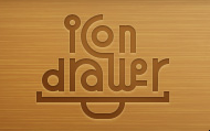 Icon Drawer Logo
